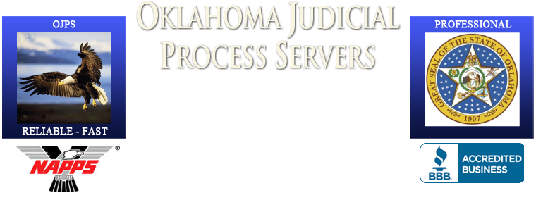 Oklahoma Judicial Process Servers |