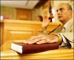 Oklahoma Expert Witness Testimony